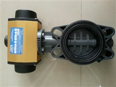 UPVC BUTTERFLY VALVE FLANGED WAFER WITH PNEUMATIC ACTUATOR