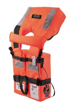Besto SOLAS EC 2010 Life Jacket (RE14009) Adult ,เสื้อชูชีพ