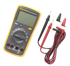ดิจิตอลมัลติมิเตอร์ FLUKE 15B+ 4000 Counts AC/DC Voltage, Current, Capacitance, Ohm Auto/Manual Range Digital multimeter meter