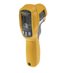Fluke 62 MAX Infrared Thermometer, Max Temperature +500C,  1.5 %, Centigrade, Fahrenheit