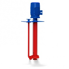 KSB vertical shaft submersible pump