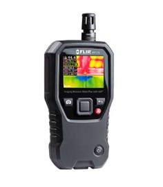 FLIR MR176 Moisture Meter, Maximum Measurement +50 (Air Temperature) ํC, +50 (Dew Point) ํC, 100 (Pinless Moisture)