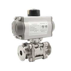 Pneumatic  with Ball Valve Sanitary