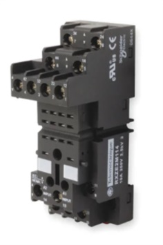 Schneider Electric, 14 Pin Relay Socket, DIN Rail, <250V for use with RXZ Series Relay Sockets