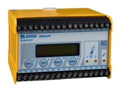 BENDER, IRDH275B-427, Digital Ground Fault Monitor / Ground Detector