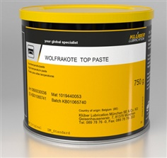 Klueber Wolfrakote Top Assembly Paste, for Industrial Valves and Fittings, Packaging Type: Can
