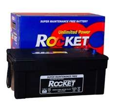 Rocket, SMF N200  Battery, Capacity: 100-150Ah