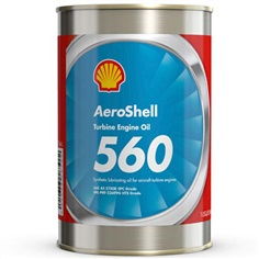 AeroShell, 560, Turbine Oil, Synthetic Turbine Engine Oil น้ำมันเครื่อง
