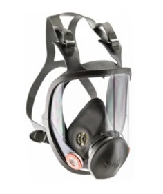 3M Series 6000 Full Respirator Mask, Medium P/N : 6800