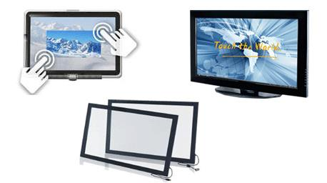Infrared Touch Screen (Single Touch)  แปลง TV LCD Monitor ให้เป็น Touch screen