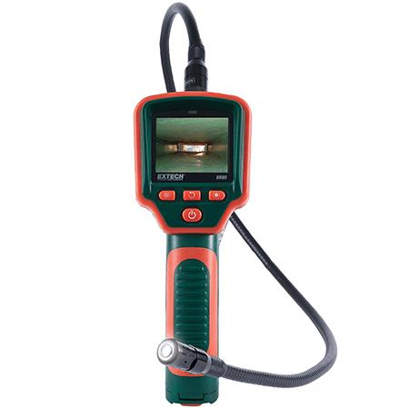 Video Borescope Inspection Camera กล้องส่องในท่อ รุ่น BR80,เครื่องวัดความเร็วลม เครื่องวัดอุณหภูมิ Anemometer,EXTECH,Instruments and Controls/Air Velocity / Anemometer