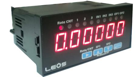 Digital Rate Meter (6 Digit),RATE METER,Digital Rate Meter,LEOS,Automation and Electronics/Automation Equipment/General Automation Equipment