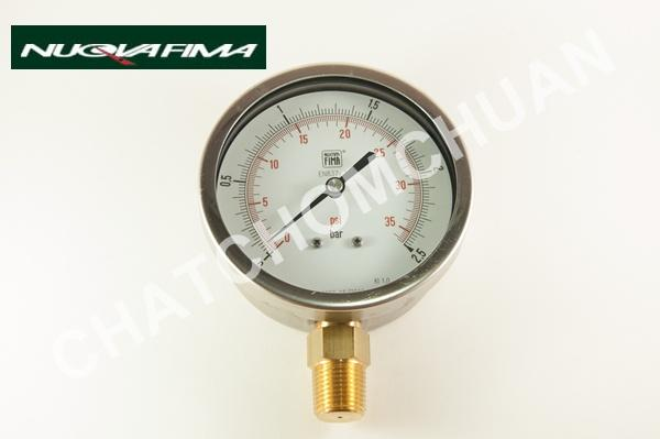 Pressure Gauge,Nuova Fima Pressure Gauge,Nuova Fima,Instruments and Controls/Measurement Services