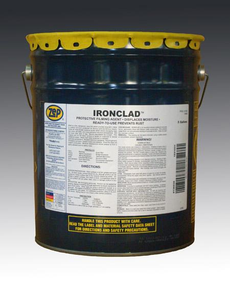 Zep IronClad,น้ำยาเคลือบกันสนิม, ป้องกันสนิม, rust away,Zep,Chemicals/Coatings and Finishes/Coatings