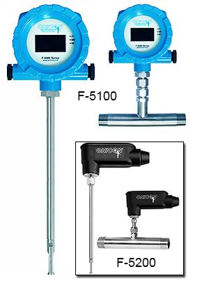 ONICON Thermal Mass Flow Meters (gas) รุ่น F-5100, F-5200,Flow Meters,gas,flow meter,flowmeter,Thermal Mass Flow Meters,Thermal Mass Flow Meter,โฟลว์มิเตอร์,ONICON,Instruments and Controls/Flow Meters