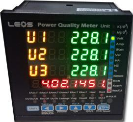 Power Quality Meter , LEOS : PQM510x,power meter,IP meter,volt,amp,harmonic,Power Quality Meter,เครื่องวัดกำลังไฟฟ้า,เครื่องวัดคุณภาพไฟฟ้า,LEOS (ลีออส),Instruments and Controls/Meters