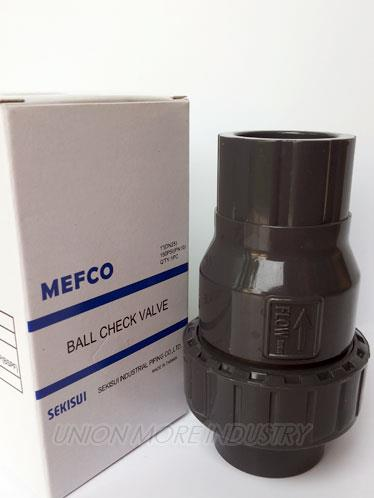 "BALL CHECK VALVE (บอลเช็ควาล์ว) UPVC SIZE 1"",BALL CHECK VALVE UPVC,SIZE 1"",บอลเช็ควาล์ว,BALL CHECK VALVE,CHECK VALVE,เช็ควาล์ว,UPVC,,Pumps, Valves and Accessories/Valves/Check Valves"