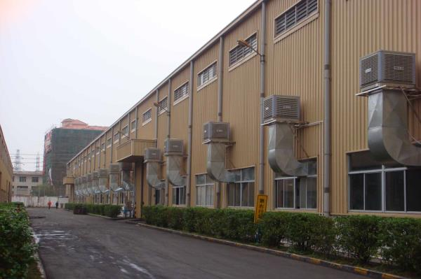 Installation EVAP AIR COOLER,พัดลมไอเย็นรุ่นเคลื่อนที่,OUBER,Plant and Facility Equipment/Facilities Equipment/Fans
