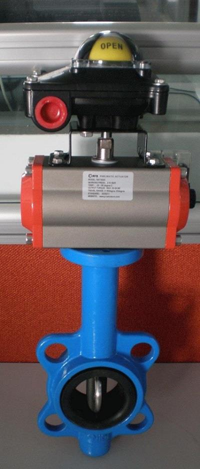 Pneumatic Butterfly Valve Wafer