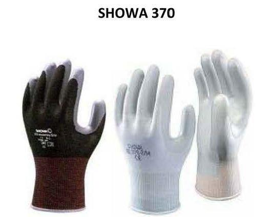 ถุงมือ SHOWA 370 ,ถุงมือเคลือบไนไตร,SHOWA,Plant and Facility Equipment/Safety Equipment/Gloves & Hand Protection