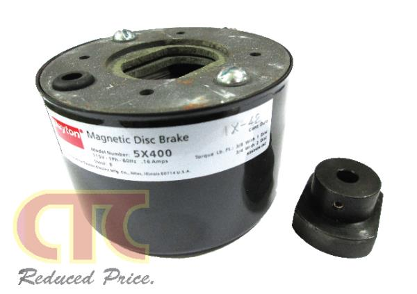 CT01-M100 DAYTON Magnetic Disc Brake 5X400,Magnetic Disc Brake , 5X400 , Dayton , CT01-M100 , brake,Dayton,Machinery and Process Equipment/Brakes and Clutches/Brake Components