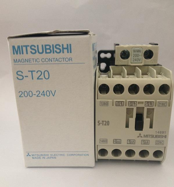 MITSUBISHI MAGNETIC CONTACTOR  S-T20
