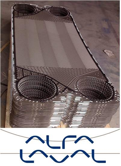 GASKET & PLATE,ALFA LAVAL GASKET / PLATE,ALFA LAVAL,Machinery and Process Equipment/Heat Exchangers