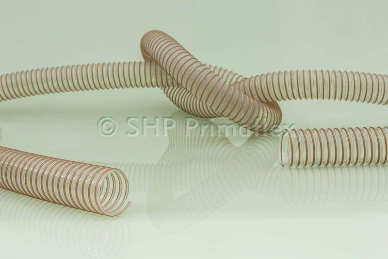 ท่อ  PUR H ป้องกันไฟฟ้าสถิต , Master-PUR H Trivolution (PU Suction hose, PU Transport hose, PU Flexible hose)