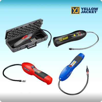 Gas Detector(Refrigerant Leak Detector),เครื่องวัดแก๊ส, Leak Detector,Yellow Jacket(USA),Machinery and Process Equipment/Compressors/Gas