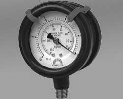 Double-side All Stainless Pressure Gauge