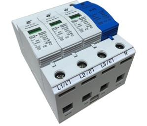 3Phase/N + PE Surge Protection Device,PE Surge Protection Device,Surge Protection Device,Surge Protection,อุปกรณ์ป้องกันไฟกระชาก,LEOS,Electrical and Power Generation/Electrical Components/Surge Protector