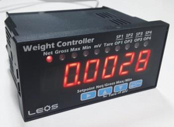 Weight Controller รุ่น WC2-B12 (2 output Relay),Weight Controller,Weight Indicator,WC2-B12,LEOS (ลีออส),Instruments and Controls/Controllers