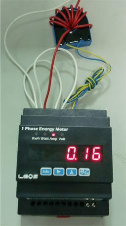 kWh Meter for Apartment , 1 Phase Energy Meter รุ่น EM100 ,kWh Meter,กิโลวัตต์ฮาว์มิเตอร์,มิเตอร์ไฟฟ้า,kWh Meter for Apartment,energy meter,1 phase energy meter,kilowatt hour meter,watthour meter,LEOS (ลีออส),Instruments and Controls/Meters