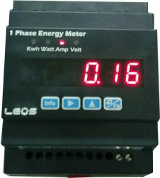 kWh Meter for Apartment , 1 Phase Energy Meter รุ่น EM100