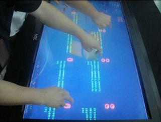 Infrared Touch Screen (6 Point Touch) ขนาด 42 นิ้ว