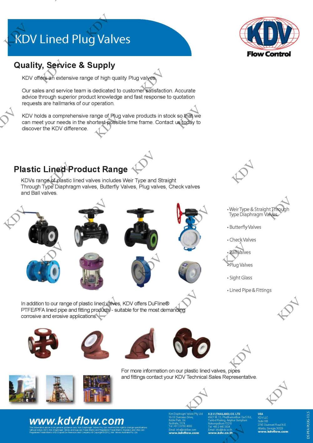 Plug Valve , 3-Way Plug Valve , Plug Valve , Plug Valve Plastic lined