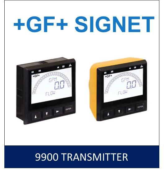 Signet 9900 Transmitter,Signet,Transmitter,+GF+ Signet,Instruments and Controls/Flow Meters