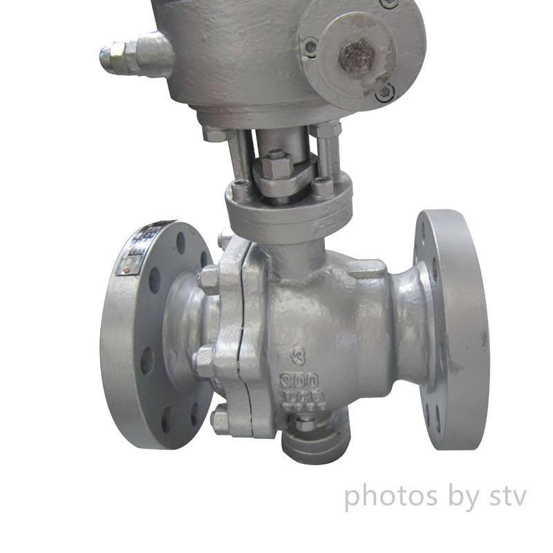 Ball Valve Full Port Class 300LB , Lcb Bdoy , 316 Trim,Peek Seat , RF