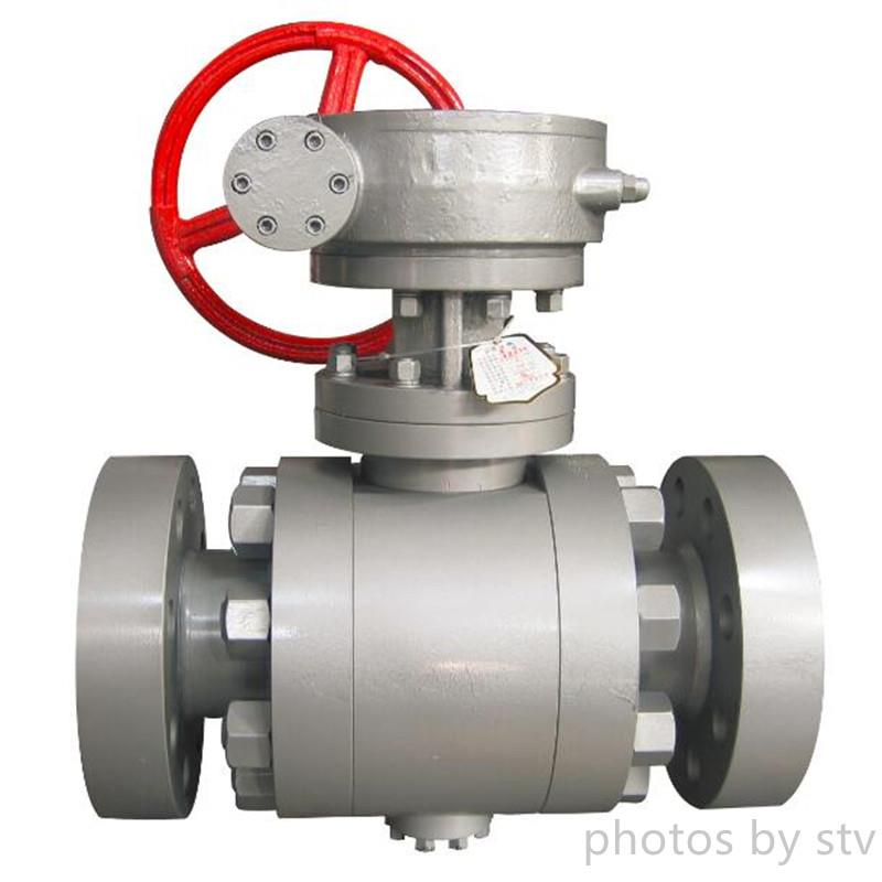 ASTM A105 Ball Valve, 3 Inch, 2500#, API 6D, RTJ,Flange Trunnion Mounted Ball Valve,Forged  Trunnion Mounted Ball Valve,High Pressure Forged Ball Valve,stv,Pumps, Valves and Accessories/Valves/Ball Valves