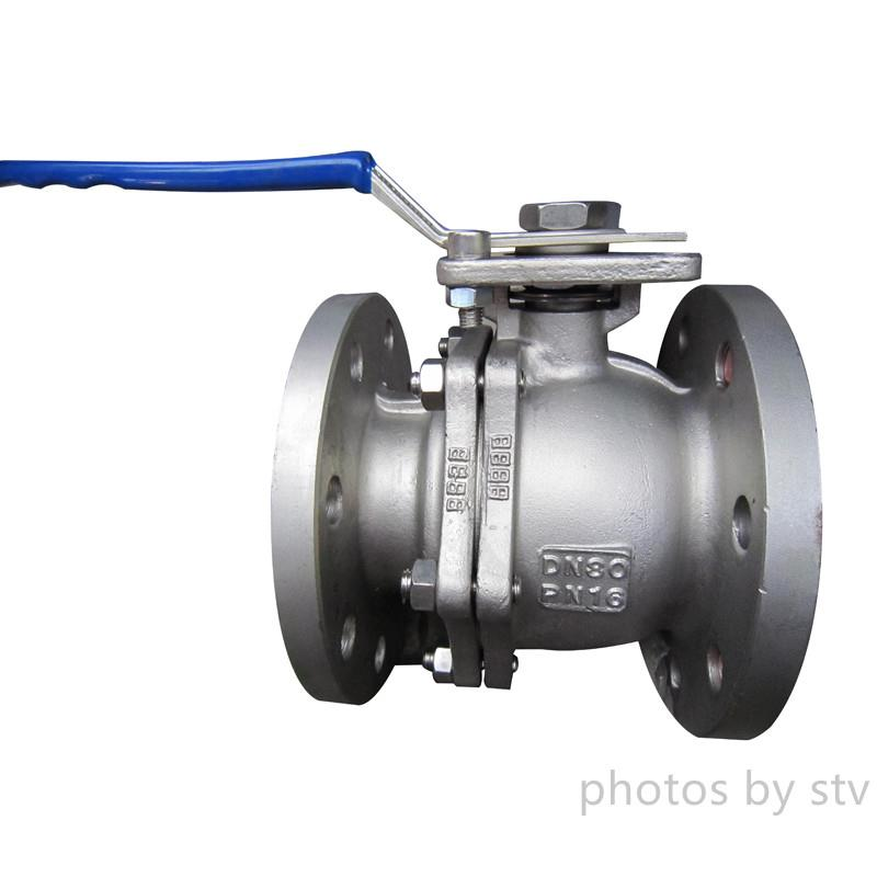 CF8 Investment Casting Type Ball Valves ,with PN16,150LB,JIS10K,2 Piece Body Full Bore Floating Type Ball Valve, ISO5211 High Mounting Pad Ball Valve,PN16 DIN Ball Valve,Investment Casting Flange Ball Valve,China Investment Casting Ball Valve,stv,Pumps, Valves and Accessories/Valves/Ball Valves