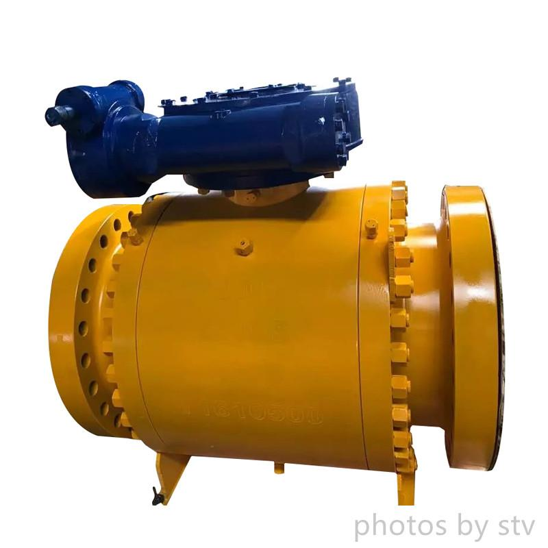 ASME B16.25 Ball Valve,1500Lb Trunnion Mounted, A105N, DN250,Gear Operated,High Pressure Ball Valve,Forged Steel Ball Valve, Nylon Seated Ball Valve, 1500 LB Forged Ball Valve, 6 Inch Forged Ball Valv15,stv,Pumps, Valves and Accessories/Valves/Ball Valves