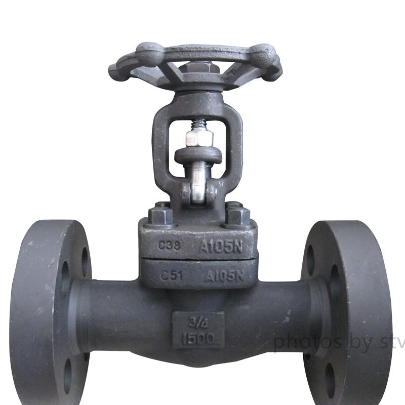 API 602 Integral Flange Forged Gate Valve, DN20, 600LB