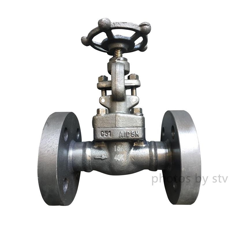 JIS 40K Weld Flange Forge Gate Valve,A105,15A,A105N Gate Valve,Flange Gate Valve,Weld Flange Gate Valve,DN15 Gate Valve,Jis40K Gate Valve,stv,Pumps, Valves and Accessories/Valves/Gate Valves