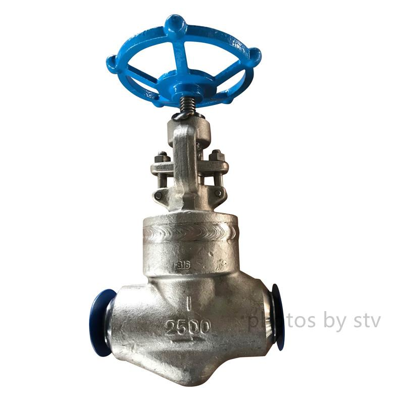 ASTM A351 CF8 Globe Valve,3 Inch ,300LB,Butt Welded Ends