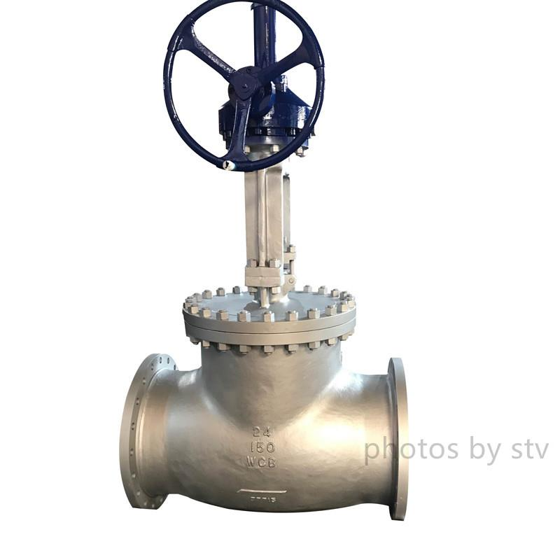 Cast Steel Globe Valves 300LB,8 Inch,Gear Box Op