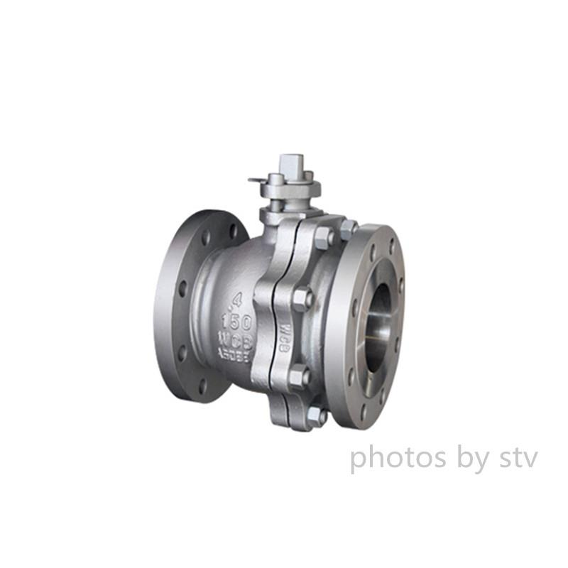 Carbon Steel Ball Valve, ASTM A216 WCB,4 IN,150LB,Ball Valve,Floating Ball Valve, 2pc Flange Ball Valve,150LB Ball Valve,Flange End Ball Balve,Locking Handle Ball Valve,STV,Pumps, Valves and Accessories/Valves/Ball Valves