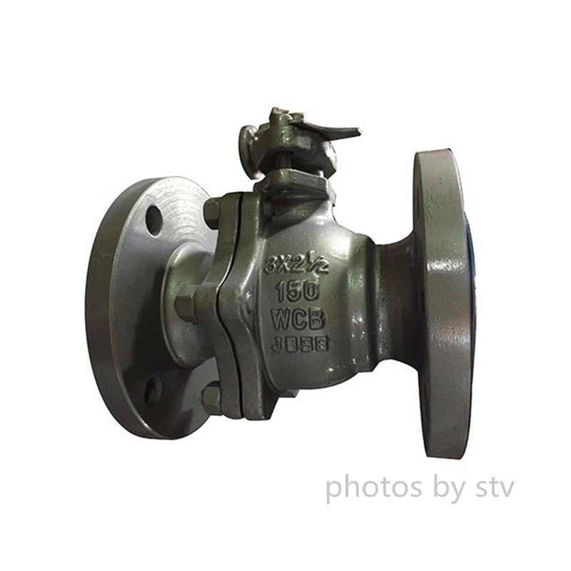 Reduced Bore Ball Valve,150LB.WCB,DN80XDN65, Ball Valve,Flanged BS 5351 Ball Valves, ASTM A216 WCB Ball Valve, 3 X 21/2 Inch Ball Valve, Class 150 Ball Valve, Reduced Bore Ball Valve, RF Ball Valve, Handwheel Ball Valve,STV,Pumps, Valves and Accessories/Valves/Ball Valves