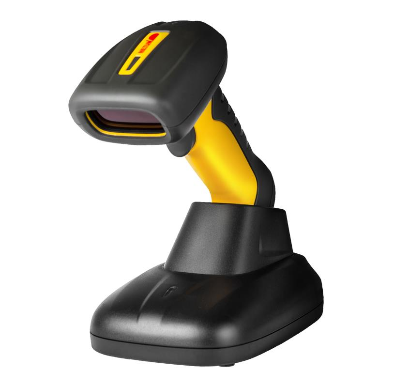NT-1209 IP67 Waterproof Wireless Laser Barcode Scanner  บาร์โค้ด อ่านรหัส  barcode Code 39,full ASCII, code bar, industrial 2 of 5, interleave 2 of 5, matrix 2 of 5, code 93, code 128, code 32, standard code 93, EAN 128, MSI, EAN8&13,UPCA&E, Plessey, DataBar14, Telepe and all 1D barcodes,NT-1209 IP67 Waterproof Wireless Laser Barcode Scanner Key Specifications / Features    Parameters:  Light Source650nnm laser(safe visible light) OperationManual Depth of Scan Field10-800mm Decode speed260 times/second Precision0.076mm(3mil) Decode Error RateLess than 1/8 million InterfaceRS232, PC2 keyboard, USB Light intensityDaylight, 4000Lux SatetyFull quakeproof, dustproof, antiknock-design and EMI Shielding Scan AngleYaw(Skew)45?& Pitch60? Light IntensityDaylight, 4000Lux Max Supported SymbologiesCode 39,full ASCII, code bar, industrial 2 of 5, interleave 2 of 5, matrix 2 of 5, code 93, code 128, code 32, standard code 93, EAN 128, MSI, EAN8&13,UPCA&E, Plessey, DataBar14, Telepe and all 1D barcodes MechanicalElectrical VoltageDC 5V Current:Operation 68mA; Idle 48mA Scanner MaterialEco-friendly, ABS Environmental Humidity5%-85% Operating temperature-20?C-45?C Storage temperature-20?C-45?C,Netum,Automation and Electronics/Barcode Equipment