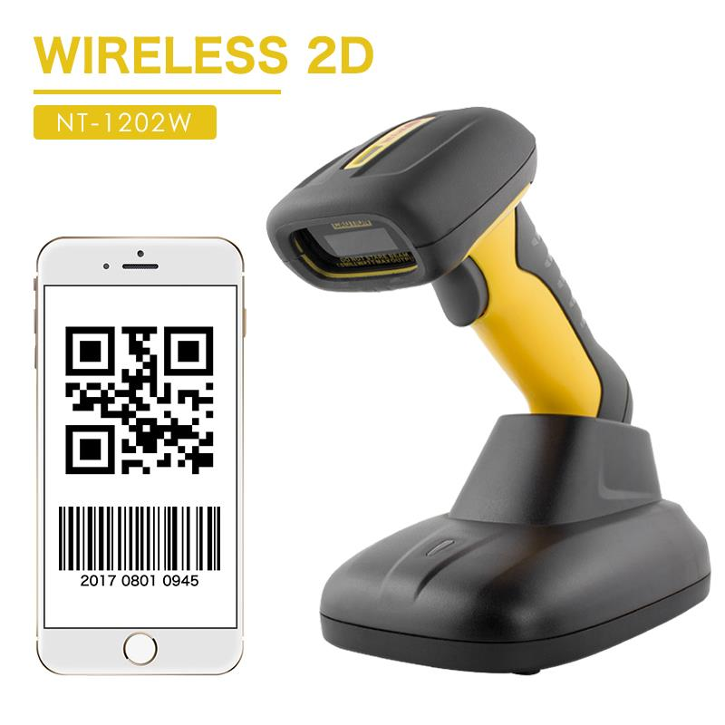 NT-1203-2D เครื่องอ่านแบบ Wireless Barcode Scanner  ไร้สาย 2D QR Code เครื่องสแกนบาร์โค้ดอุตสาหกรรม IP67กันน้ำ 32bit บาร์โค้ดสแกนเนอร์สำหรับระบบ POS Industrial LaserLight source:650nm laserScan mode:Single scanScan speed:200times/secondScan precision:0.1mm(4mil)Protection class:IP67Weight:with baseMax Paper Size:A4,NT-1203-2D เครื่องอ่านแบบ Wireless Barcode Scanner  ไร้สาย 2D QR Code เครื่องสแกนบาร์โค้ดอุตสาหกรรม IP67กันน้ำ 32bit บาร์โค้ดสแกนเนอร์สำหรับระบบ POS Industrial LaserLight source:650nm laserScan mode:Single scanScan speed:200times/secondScan precision:0.1mm(4mil)Protection class:IP67Weight:with baseMax Paper Size:A4,netum,Automation and Electronics/Barcode Equipment