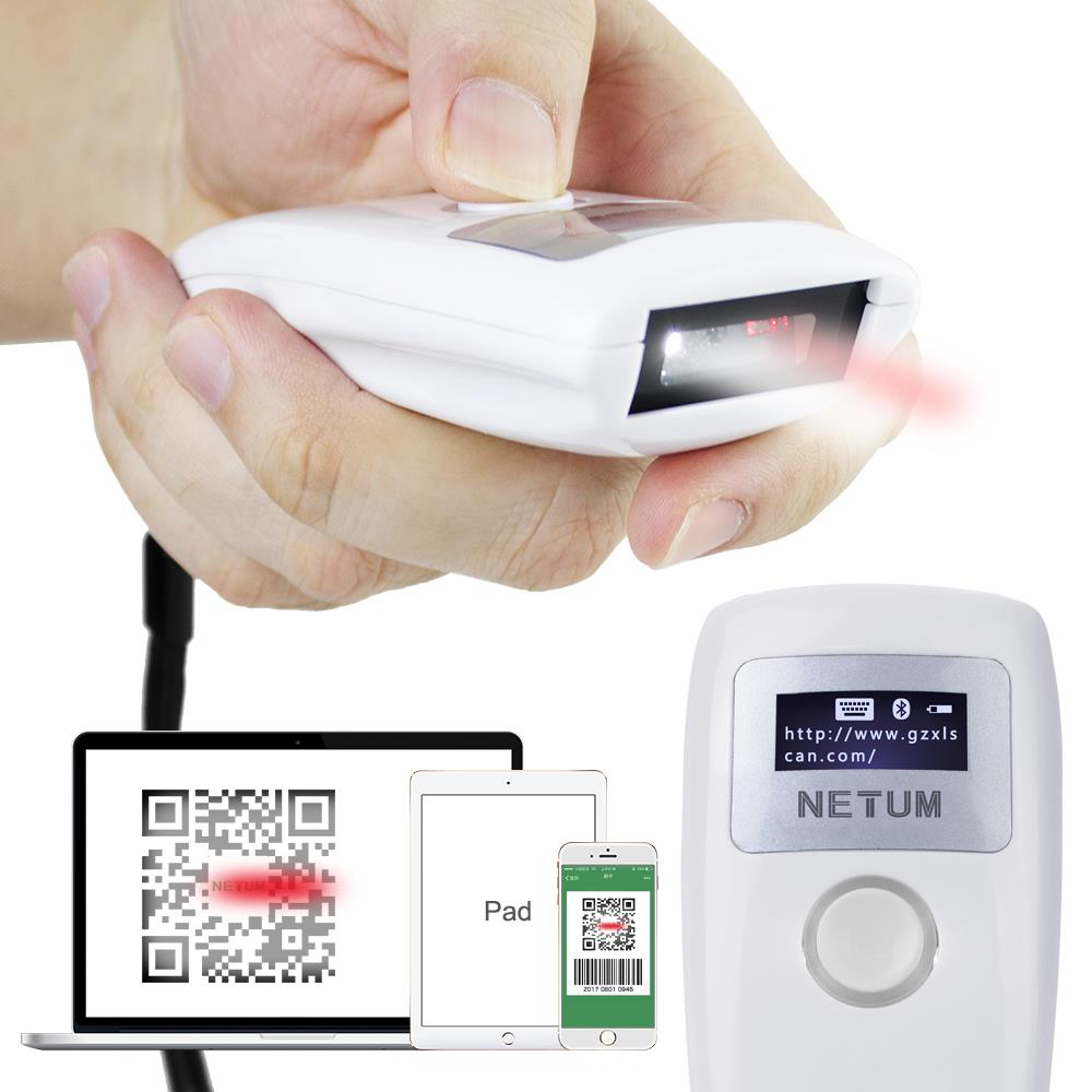 NT-Z2 Mini Pocket Bluetooth Barcode Scanner 2D บาร์โค้ดสแกนเนอร์ บลูทูธ 2D บาร์โค้ดสแกนเนอร์ มือถือ USB เครื่องอ่านบาร์โค้ดสแกนเนอร์สำหรับมือถือการชำระเงินหน้าจอคอมพิวเตอร์สนับสนุนการสนับสนุนสำหรับ Iphone IOS และ Android, Mac OS X, Windows 10,NT-Z2 Mini Pocket Bluetooth Barcode Scanner 2D บาร์โค้ดสแกนเนอร์ บลูทูธ 2D บาร์โค้ดสแกนเนอร์ มือถือ USB เครื่องอ่านบาร์โค้ดสแกนเนอร์สำหรับมือถือการชำระเงินหน้าจอคอมพิวเตอร์สนับสนุนการสนับสนุนสำหรับ Iphone IOS และ Android, Mac OS X, Windows 10  1. Mini Pocket barcode scanner  2. Support HID and SPP mode  3. Bluetooth communication channel  4. Communication distance is around 30 meters  5. Can read codes directly from screen  6. Read 1D and 2D codes  7. Support inventory model,store around 2000pcs codes   NT-Z2 1D&2D Mini Pocket Bluetooth Barcode Scanner Key Specifications / Features   Feature	 Light Resource	CMOS Bluetooth Version	V 4.0 ,HID mode ,SPP mode CPU	32 bit high resolution Supported Symboligies	2D:  PDF417?QR Code (QR1/2, Micro)?Data Matrix (ECC200, ECC000, 050, 080, 100, 140)?Chinese Sensible Code 1D : Code128, UCC/EAN-128, AIM128, EAN-8, EAN-13, ISBN/ISSN, UPC-E, UPC-A, Interleaved 2 of 5, ITF-6, ITF-4, Matrix 2 of 5, Industrial 25, Standard 25, Code39, Codabar, Code 93, Cod,Netum,Automation and Electronics/Barcode Equipment